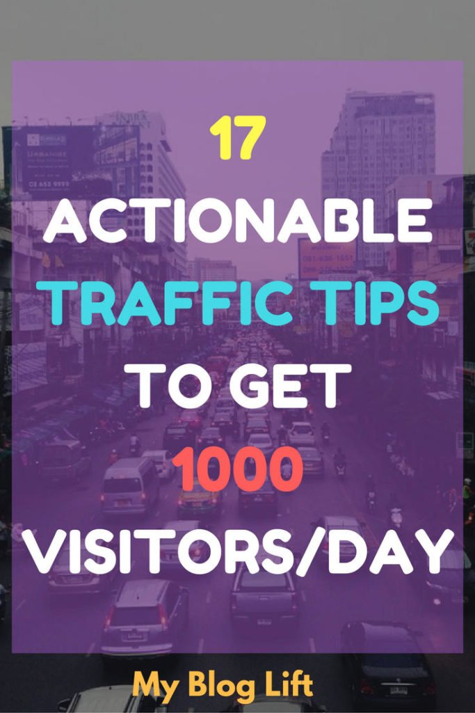 Actionable Traffic tips