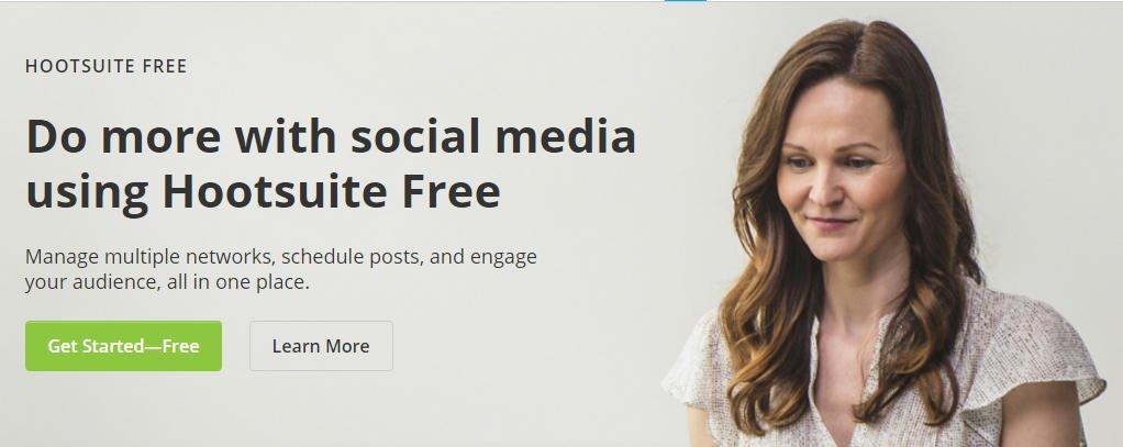 Hootsuite Online Blogging Tool