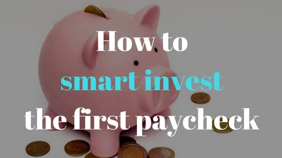 Invest First Paycheck earned by Blogging