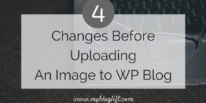 Changes Before Uploading Image