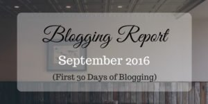 First Month Blogging Income Report