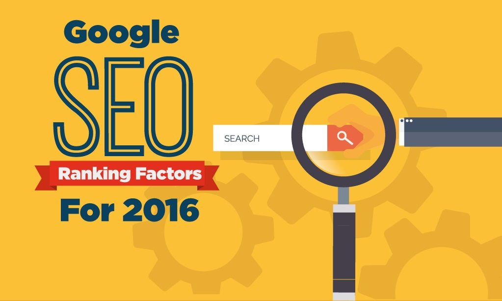 Working Google SEO Ranking Factors in 2016