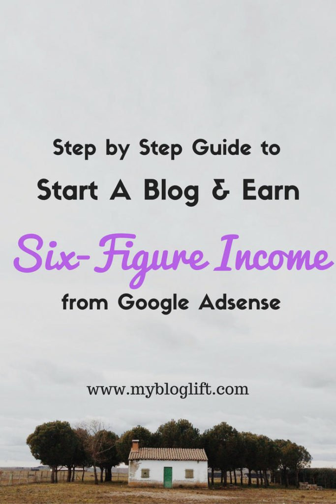 Start Adsense Ready Blog and Earn Six Figure Income