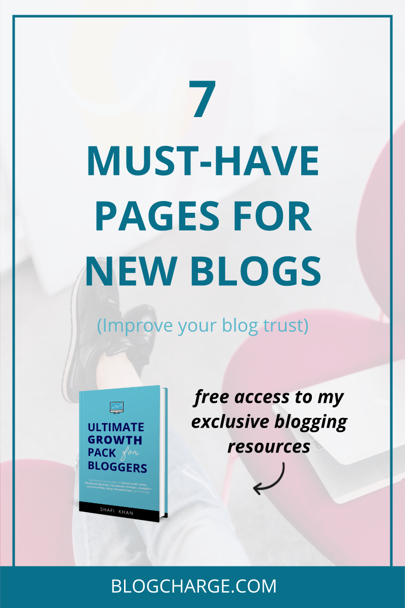 Must Have Blog Pages