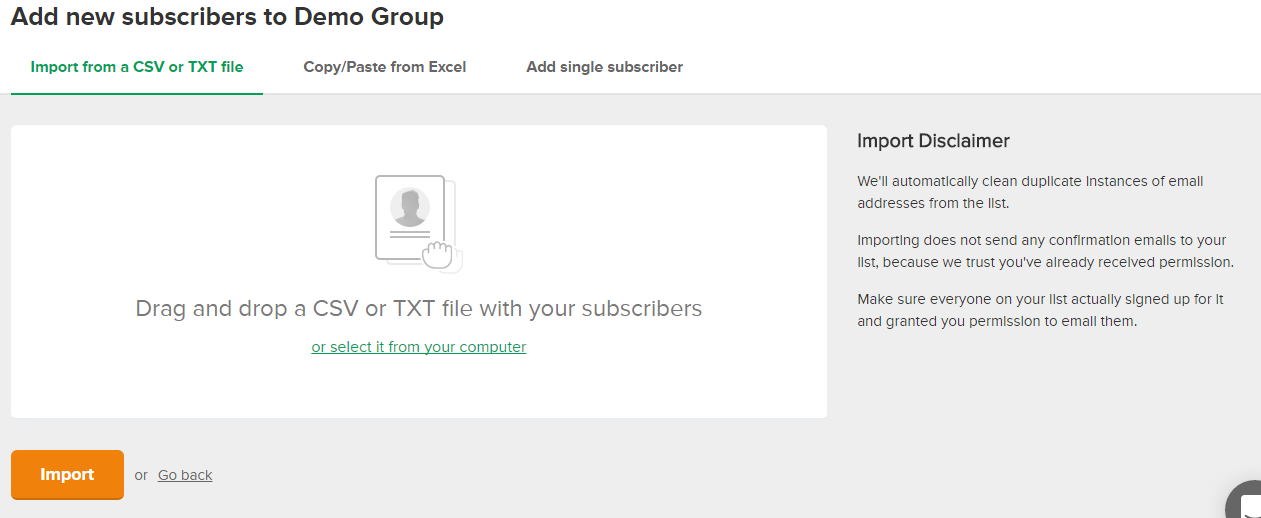 How To Add new subscribers in MailerLite