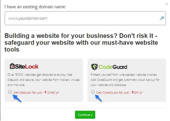 BlueHost India Domain Name FREE