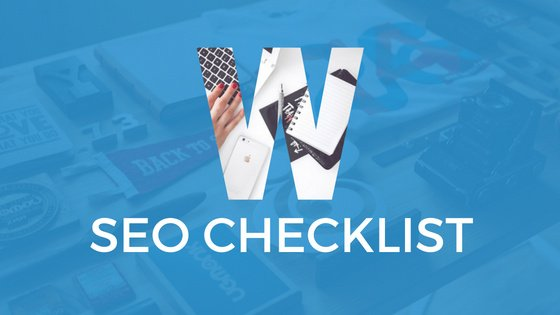 WordPress SEO Checklist 2017