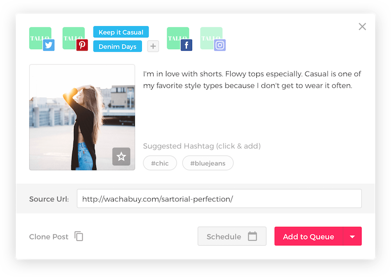 ViralTag - Social Media Automation Tool for Pinterest