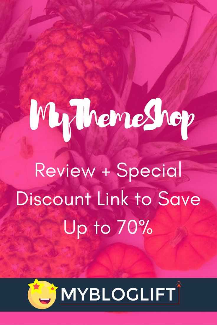 MyThemeShop Review Pinterest
