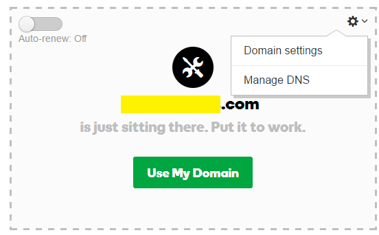 Choose Domain to Transfer