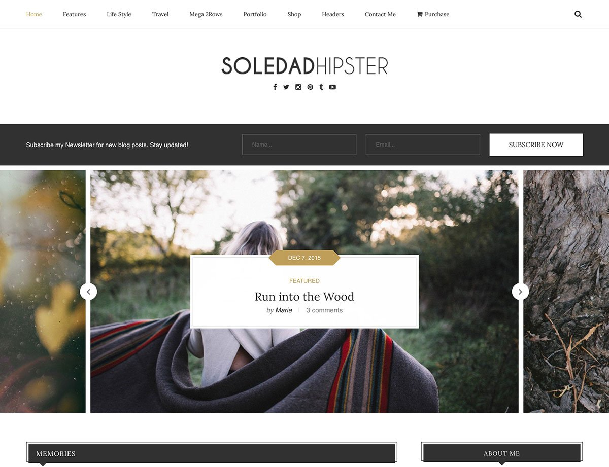 Soledad WordPress theme Demo
