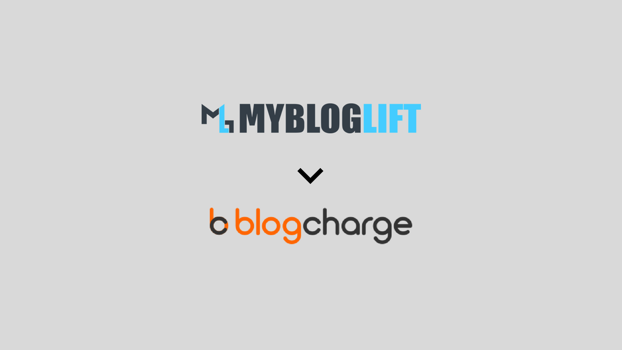 MyBlogLift is now BlogCharge