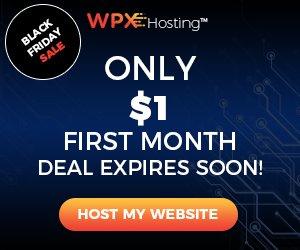 WPX Hosting 1Dollar Coupon