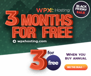 WPX Hosting Deal 3 for Free
