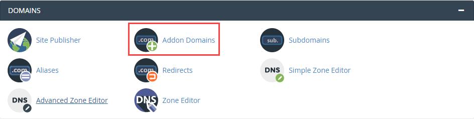 Addon Domain CPanel