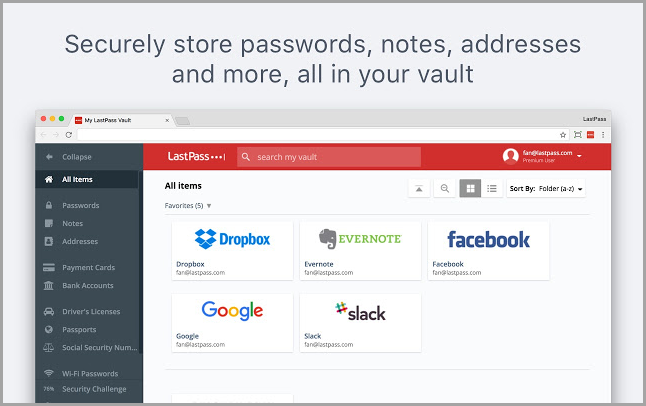 LastPass Chrome Extension for Bloggers