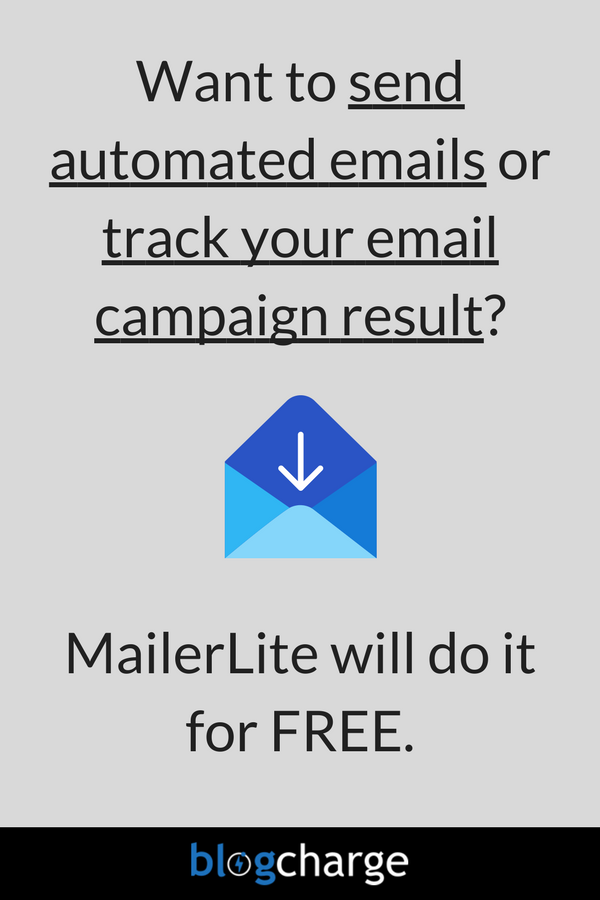 Old Email Marketing Mailerlite  For Sale
