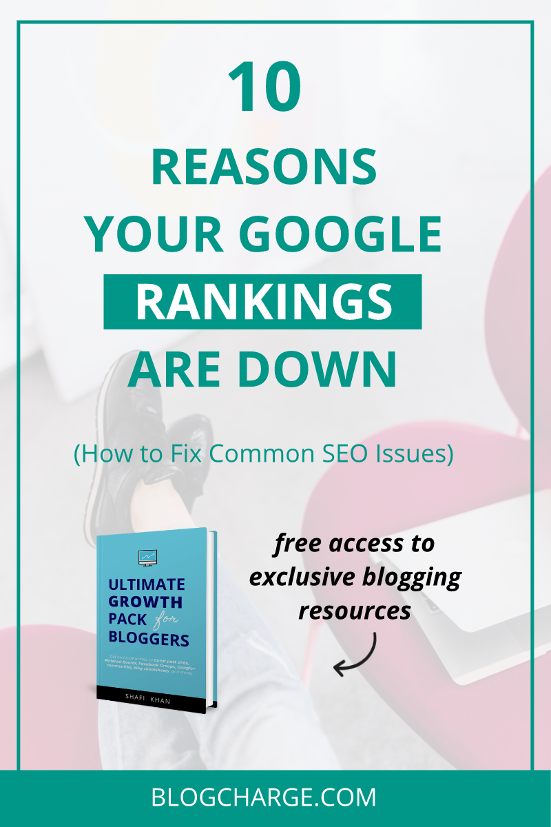 How to Recover from Google Rankings Drop