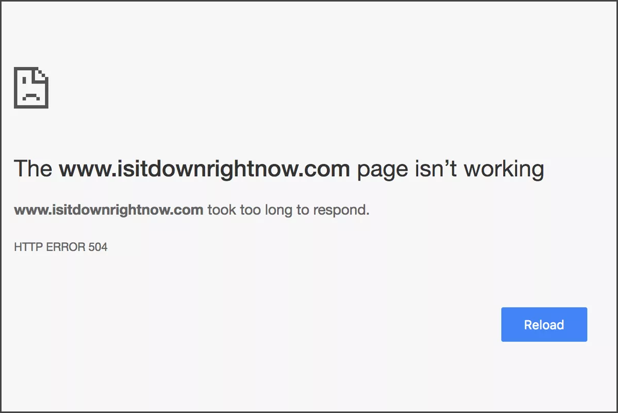 Website Downtime - Reason for Ranking Lost
