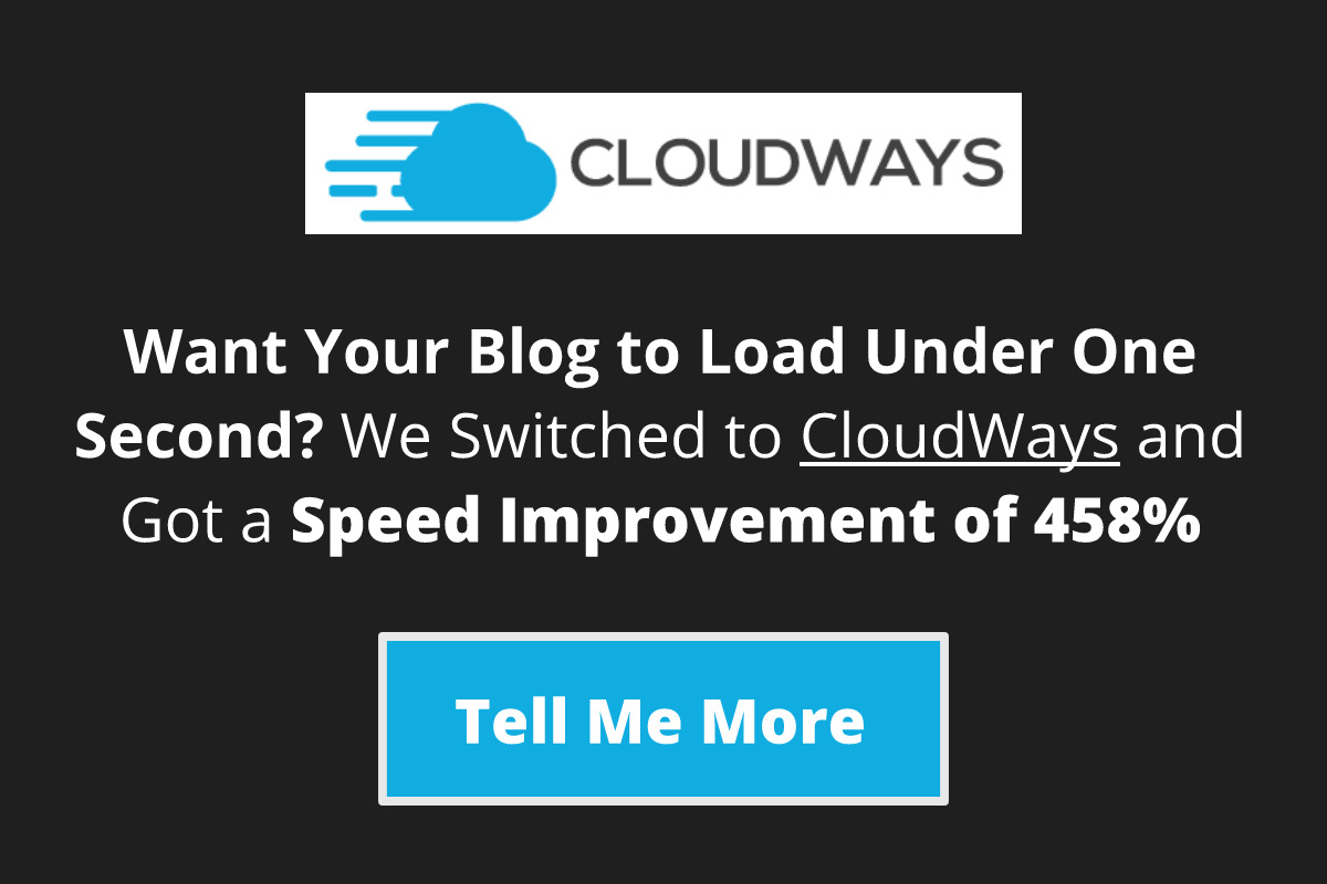 Cloudways Sidebar Widget Banner