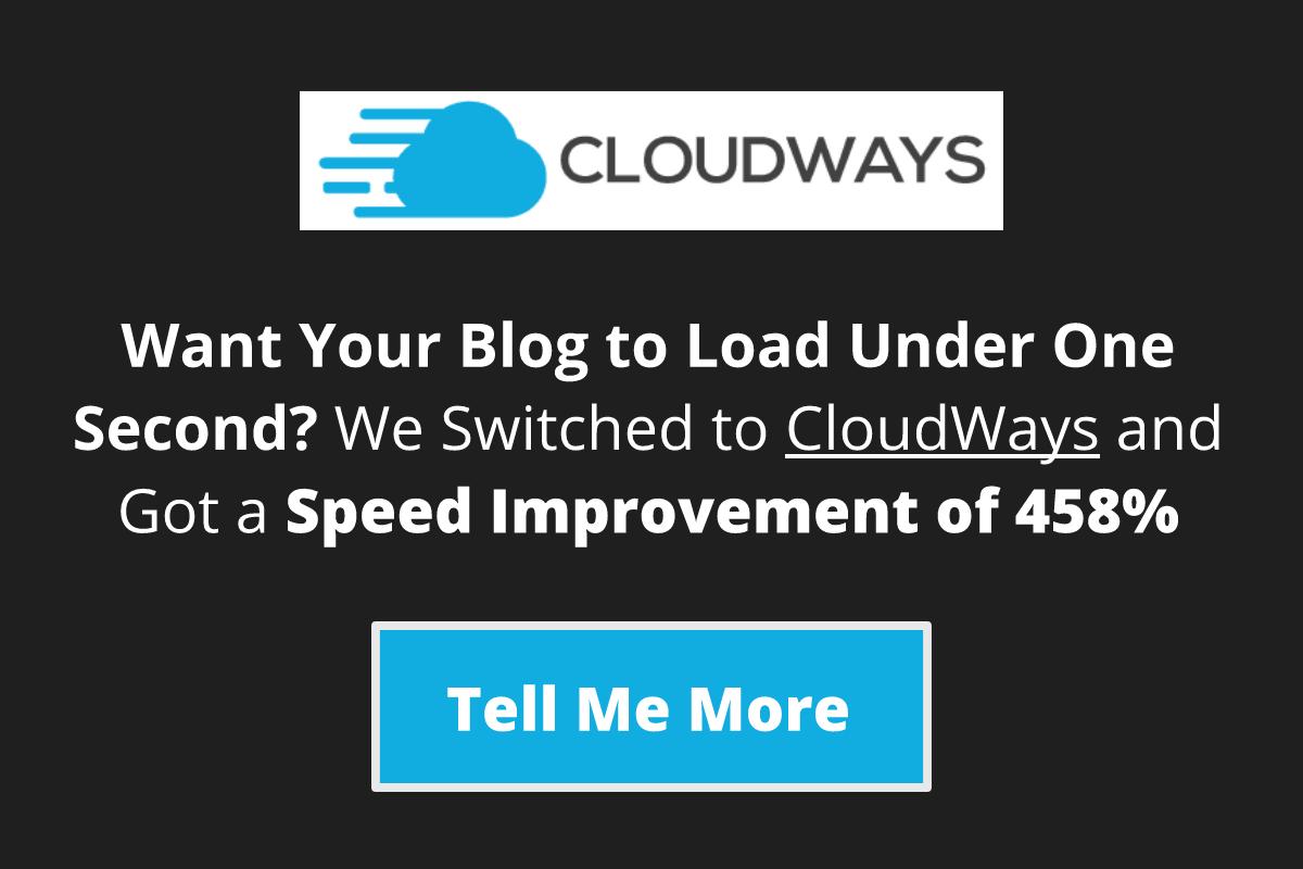 Cloudways Sidebar Widget Banner