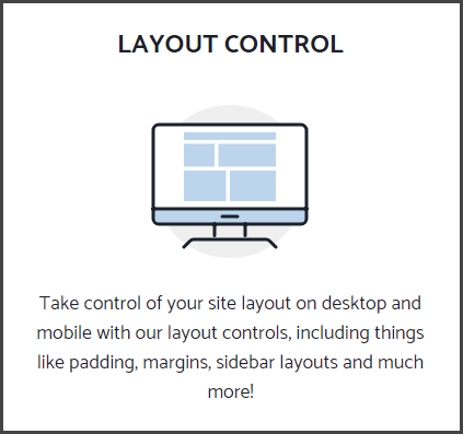 GeneratePress layout control feature