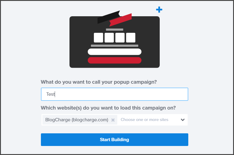 Create Campaign in OptinMonster - Naming