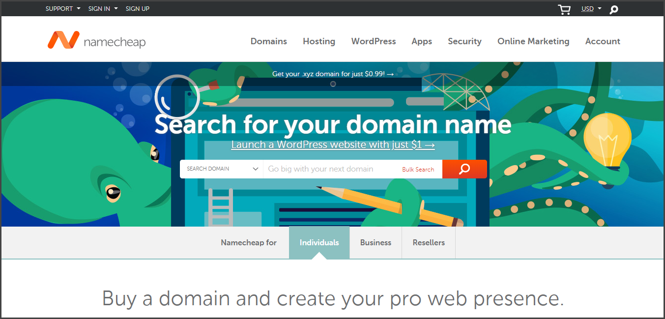 NameCheap - Best Domain Name Registrars