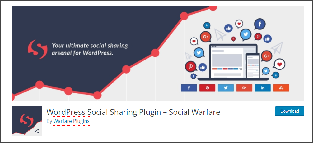 Social Warfare - Best WordPress Plugins for Blogs