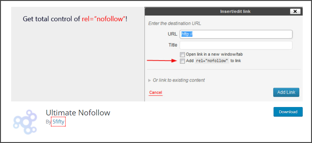 Ultimate NoFollow - Best WordPress Plugins for Blogs