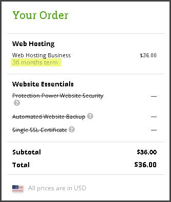 HostPapa 36 Months Hosting Offer