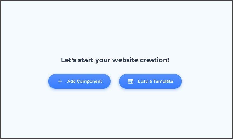RenderForest Website Maker - Choose Option