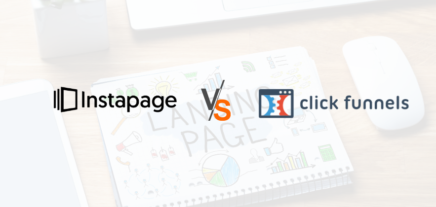 Instapage vs clickfunnels featured image