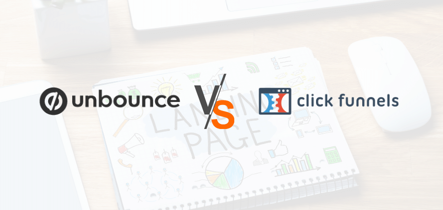 unbounce vs clickfunnels featured image